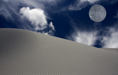 WHITE SANDS DESERT NEW MEXICO USA