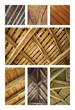 Bois, charpente, menuiserie, toit, plafond, poutre