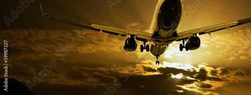 Fototapeta transport - turystyka - Samolot