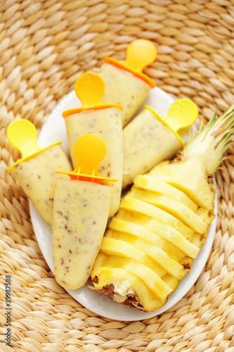 pineapple ice-cream