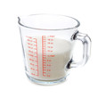 Sugar in measuring cup