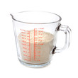 Flour in Measuring cup