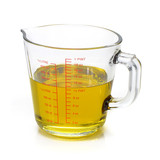 Oil in measuring cup