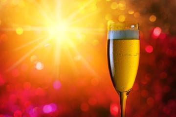 champagne .