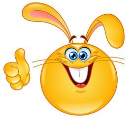 Bunny emoticon
