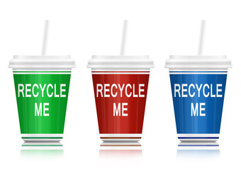 Recycling concept.