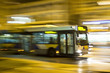 Motion blurred bus - 39991599