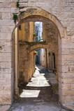 Arch of St. Chiara.  Acquaviva delle Fonti. Puglia. Italy.-