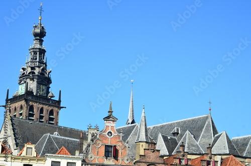 Nijmegen - St. Steven church view from Grote Markt