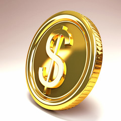 Dollar Gold Coin