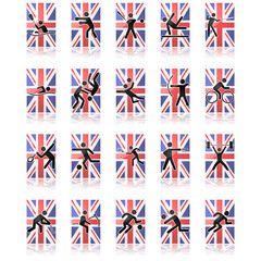UK sport icons