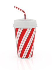 Cup and straw