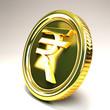 Rupee Gold Coin