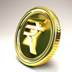 Rupee Gold Coin
