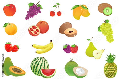 Vector Fruit