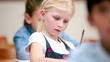 Cute children working