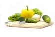 vegetables on board
