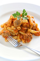 Meatball and Sausage Pasta