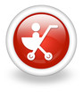 "Light Red Icon ""Stroller"""
