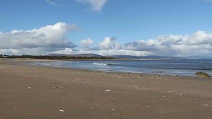 Dornoch beach Sutherland Scotland