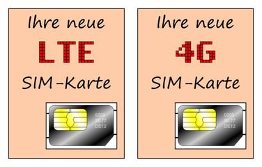 LTE 4G SIM-Karte