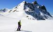 Fototapete Sport - Winter - Hochgebirge