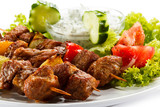 Grilled meat and vegetables - 40016327
