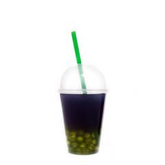 Bubble Tea Beerenmix mit Grüner Apfel/Orange