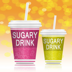 Sugary drinks.
