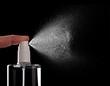 spray bottle liquid perfume drop