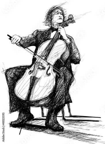 violoncellist - 40023593