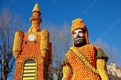 Papiers peints Carnaval Lemon Festival (Fete du Citron). Menton, France. Normandie