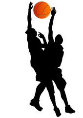 Basketball mans