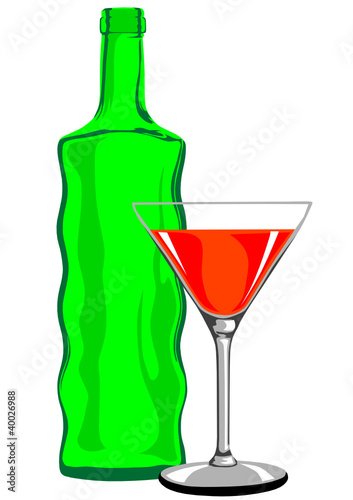 Martini bottle
