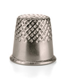Metal sewing thimble
