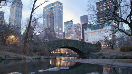 Timelapse of Central Park in New York