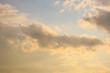 Leinwanddruck Bild - Beautiful cloudscape