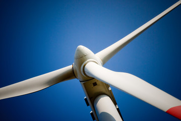 wind mill closeup