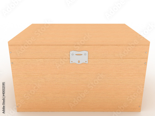 The casket of a tree on a white background №4