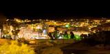 night view of town Wadi Musa,  Petra, Jordan poster