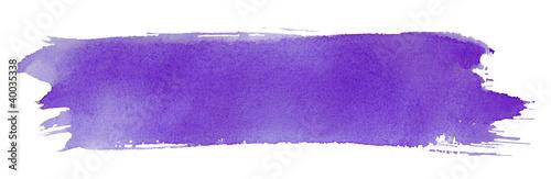 Violet stroke of paint brush - 40035338