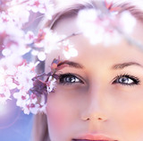 Sensual portrait of a spring woman - 40037514