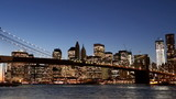 Timelapse of Brooklyn Bridge in New York