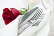 Romantic dinner setting - 40041773