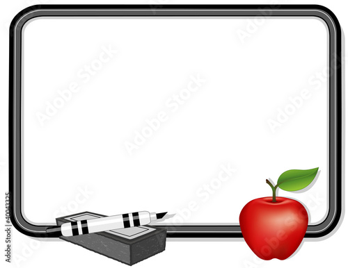 Whiteboard, Apple for the Teacher, Copy Space