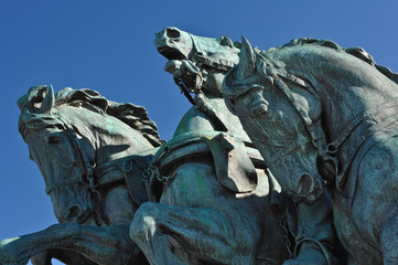 Civil War Horse Statue in Washington DC