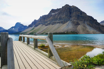 Bow Lake, Banff National Park, Canada