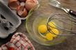 Leinwanddruck Bild - Eggs Uova Huevos 鸡蛋 Eier
