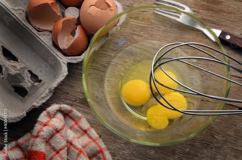 Leinwanddruck Bild Eggs Uova Huevos 鸡蛋 Eier