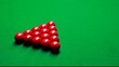 Billiards - White Ball hitting the Red